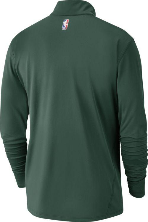 408839e1db9a Nike Men s Milwaukee Bucks Dri-FIT Element Half-Zip Pullover. noImageFound.  Previous