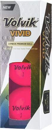 Volvik 2018 VIVID Matte Pink Golf Balls product image