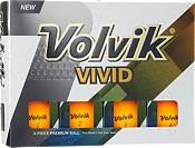 Volvik 2018 VIVID Matte Sherbet Orange Personalized Golf Balls product image