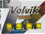 Volvik 2018 VIVID Matte Yellow Personalized Golf Balls product image