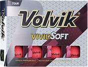 Volvik 2018 VIVID Soft Matte Pink Personalized Golf Balls product image