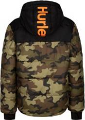 Hurley Boys' Summit Full-Zip Puffer Jacket product image