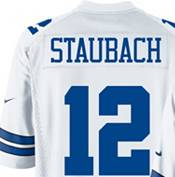 Nike Men's Dallas Cowboys Roger Staubach #12 Game Legends White Jersey product image
