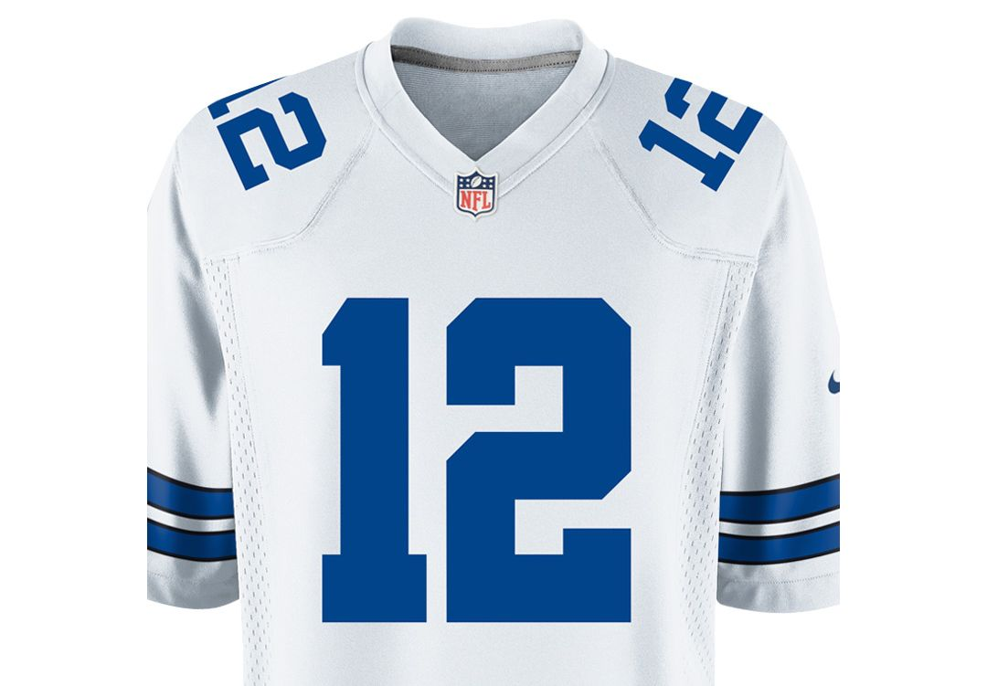 low priced 09c75 a19b1 Nike Men's Home Game Legends Jersey Dallas Cowboys Roger Staubach #12
