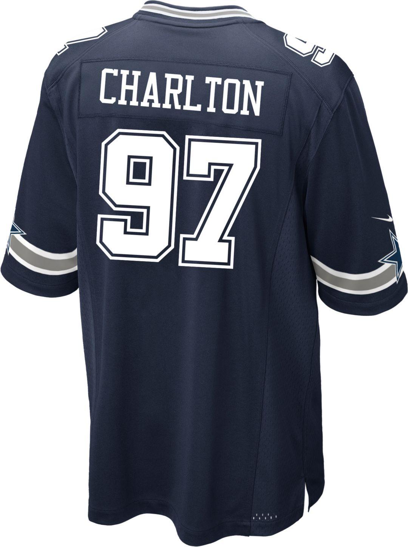 size 40 cb29f 472d6 Nike Men s Game Jersey Dallas Cowboys Taco Charlton  97   DICK S ...