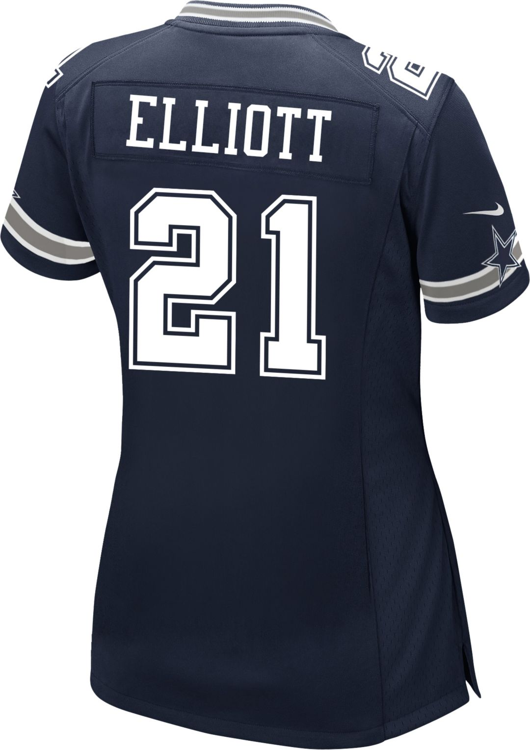 timeless design e30eb 13f8e Nike Women's Game Jersey Dallas Cowboys Ezekiel Elliott #21