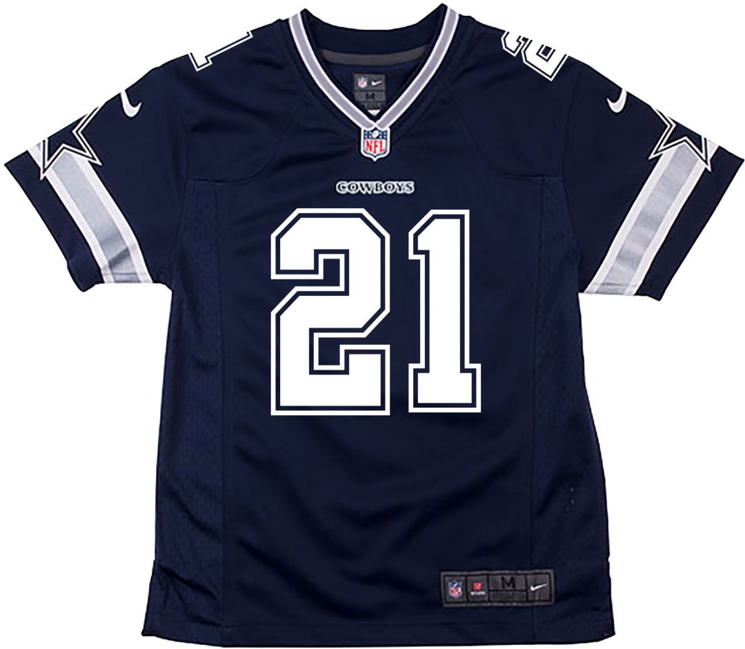 separation shoes 37904 3e567 Nike Toddler Game Jersey Dallas Cowboys Ezekiel Elliott #21