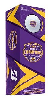 Bridgestone 2019 e12 SOFT Golf Balls – 2019 National Championship LSU Tigers Limited Edition product image