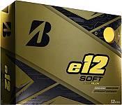 Bridgestone e12 SOFT Matte Yellow Golf Balls product image