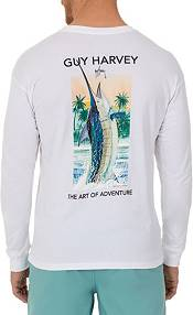 Guy Harvey Men's Marlins Adventure Long Sleeve T-Shirt product image