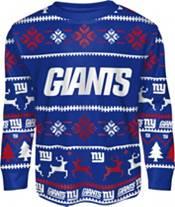 FOCO Boys' New York Giants Wordmark Crew Pajama Set product image