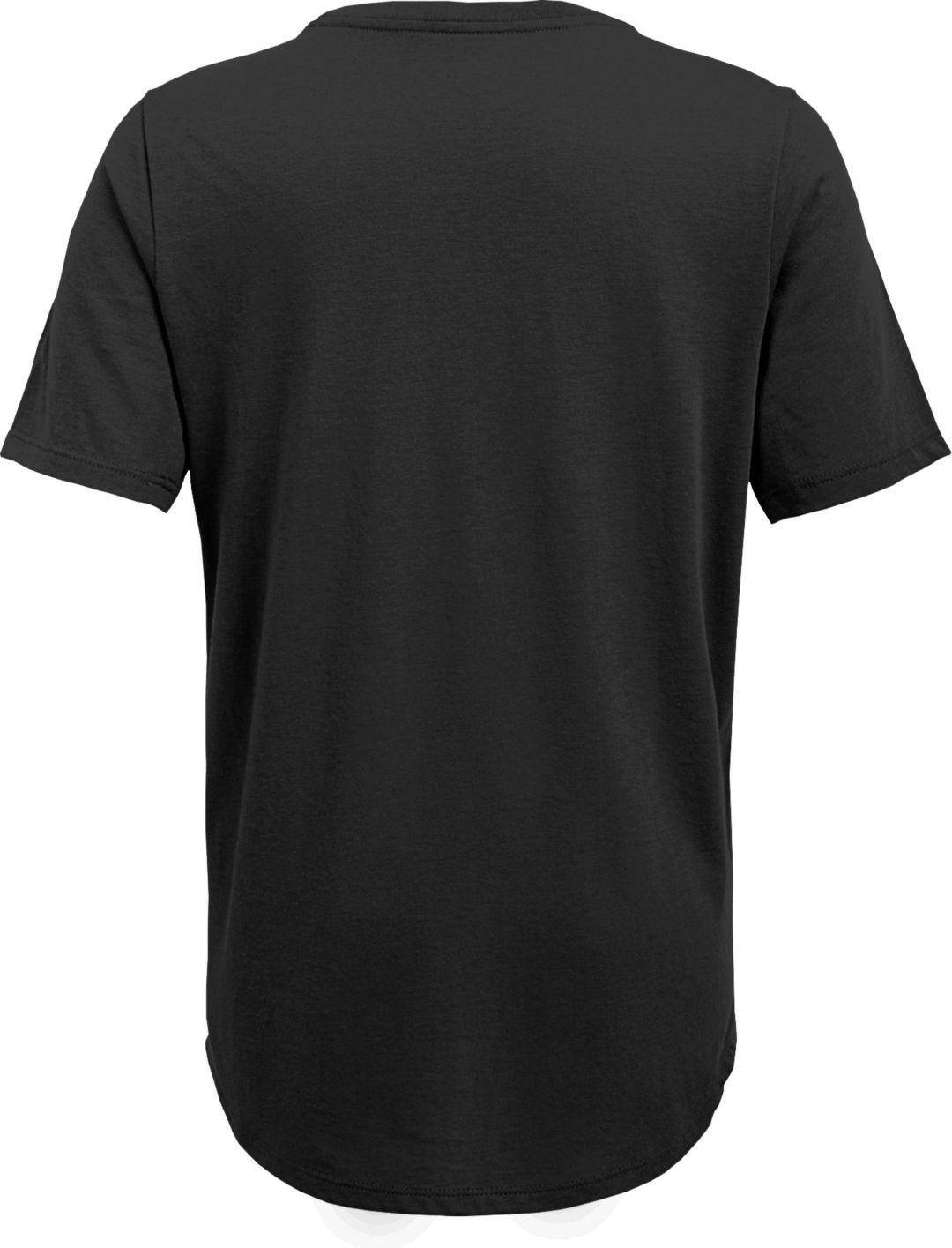 new arrivals ba66b 10976 NFL Team Apparel Youth Pittsburgh Steelers Ultra Black T-Shirt