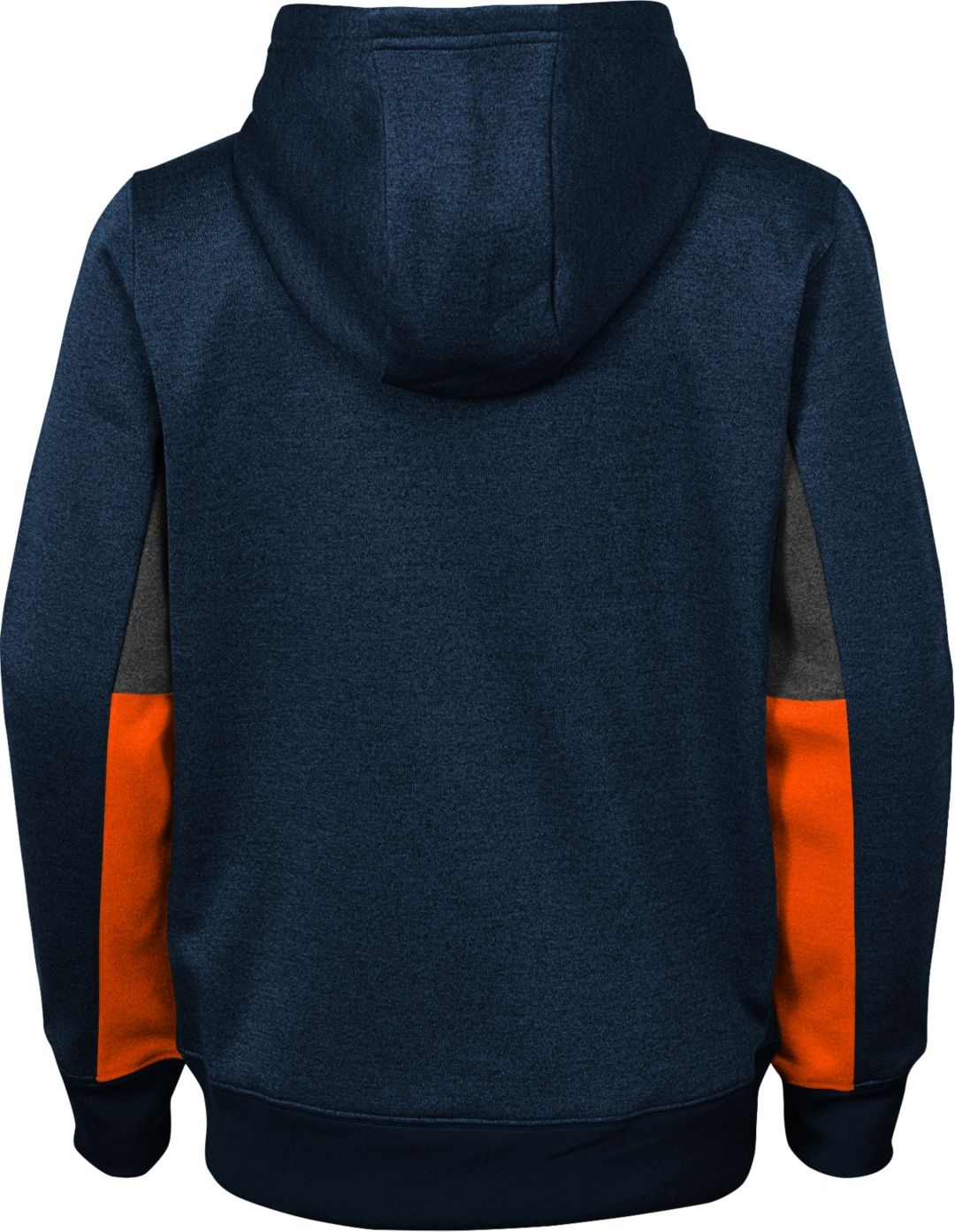 sports shoes 21829 4004e NFL Team Apparel Youth Chicago Bears Status Performance Navy Hoodie