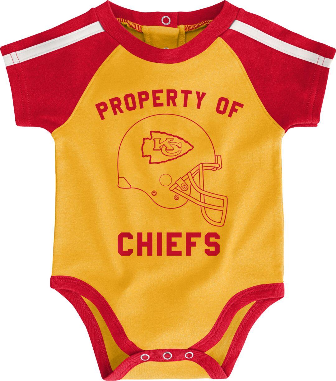 sports shoes 83090 43a67 NFL Team Apparel Infant Kansas City Chiefs Bib/Booties Set