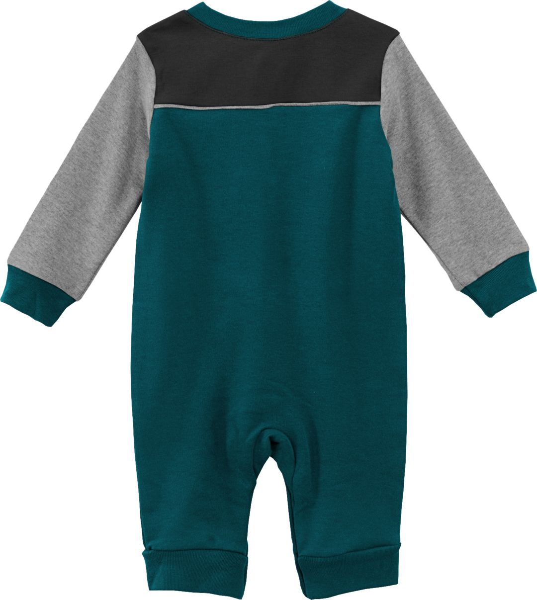 pretty nice 880ea f17e0 NFL Team Apparel Infant Philadelphia Eagles Green Coverall