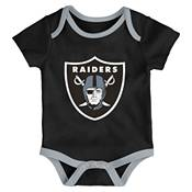 NFL Team Apparel Infant Las Vegas Raiders 3-Piece Creeper Set product image