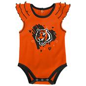 Gen2 Infant Girl Cincinnati Bengals 2-Piece Onesie Set product image