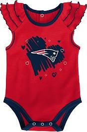 Gen2 Infant Girl New England Patriots 2-Piece Onesie Set product image