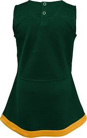 NFL Team Apparel Toddler Green Bay Packers Cheer Jumper Dress product image