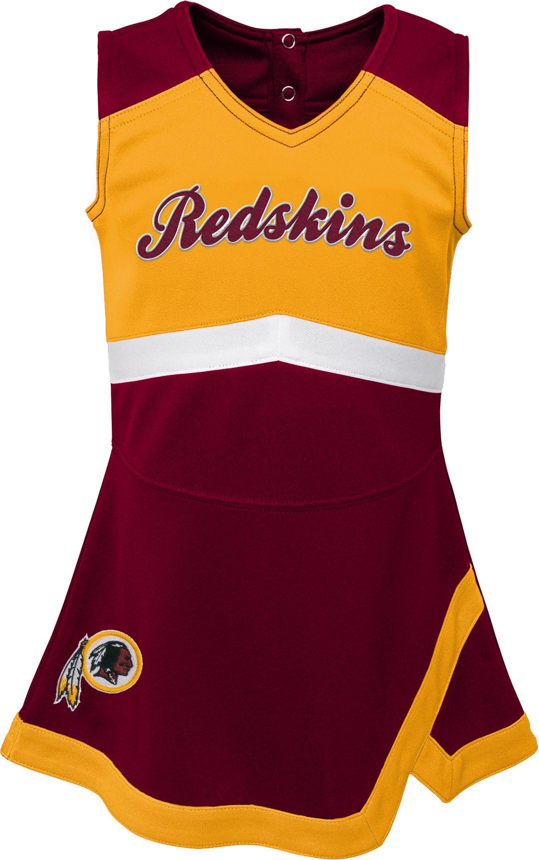 quality design 19775 d3693 NFL Team Apparel Toddler Washington Redskins Cheer Jumper Dress