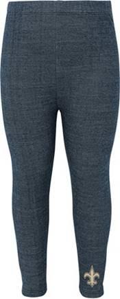 NFL Team Apparel Little Girls' New Orleans Saints T-Shirt and Legging Set product image