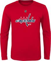 NHL Youth Washington Capitals Alex Ovechkin #8 Red Long Sleeve Player Shirt product image