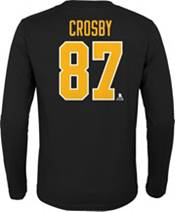 NHL Youth Pittsburgh Penguins Sidney Crosby #87 Black Long Sleeve Player Shirt product image