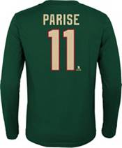 NHL Youth Minnesota Wild Zach Parise #11 Green Long Sleeve Player Shirt product image
