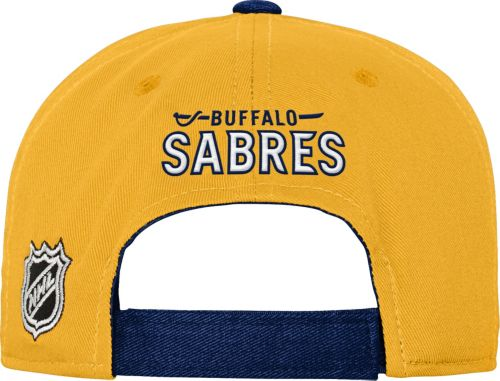 d032ff4d086 NHL Youth Buffalo Sabres Basic Strucutred Navy Adjustable Hat ...