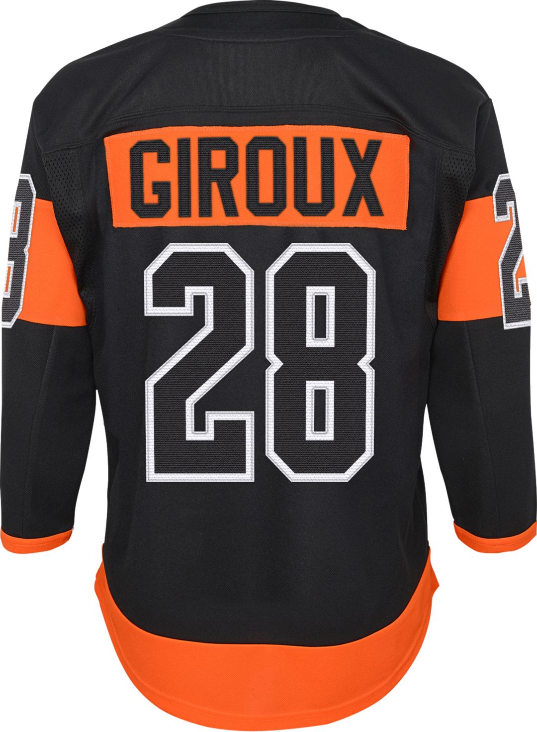 info for bfe1a 1a41d NHL Youth Philadelphia Flyers Claude Giroux #28 Premier Home Jersey
