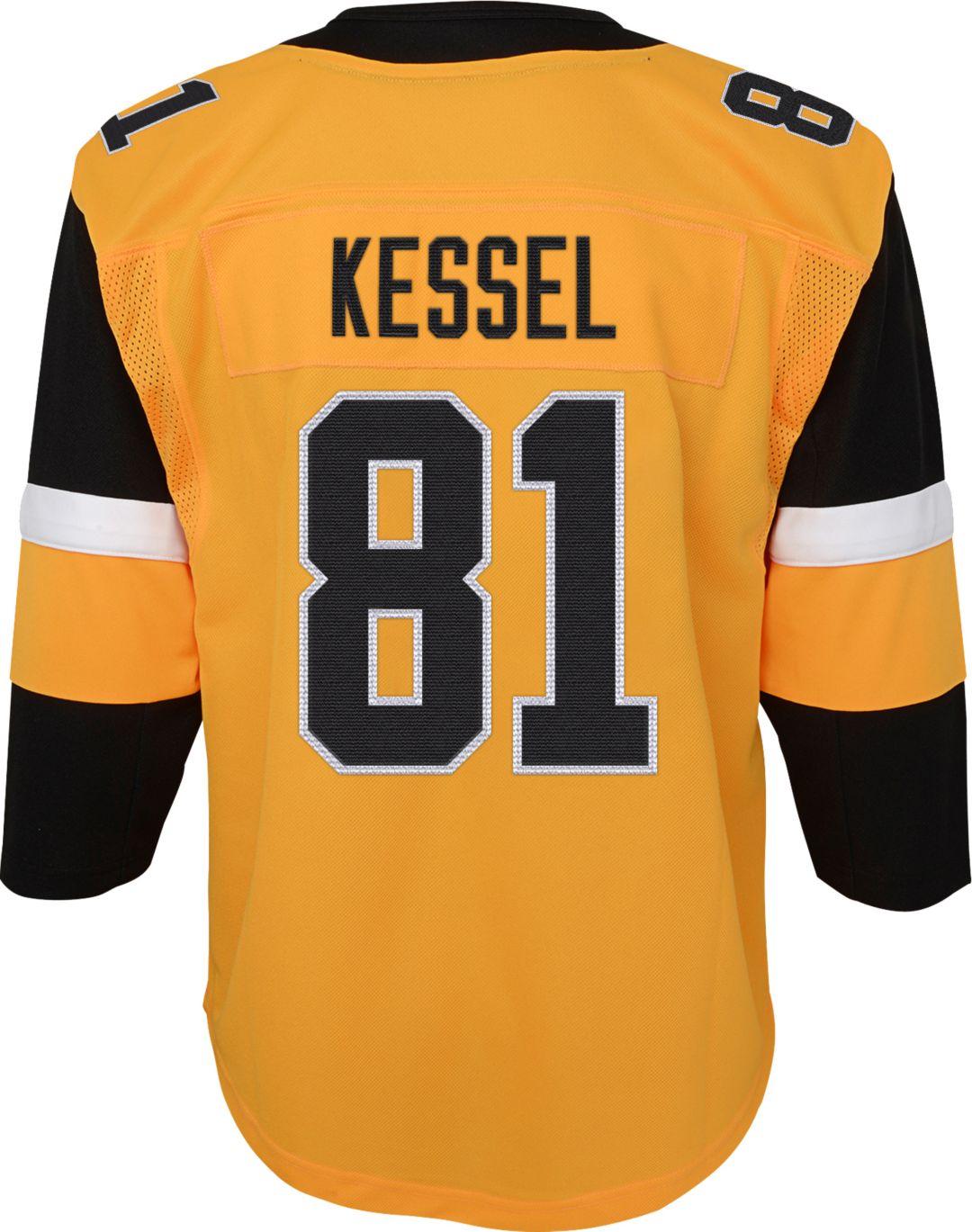 buy popular f9117 2bc62 NHL Youth Pittsburgh Penguins Phil Kessel #81 Premium Alternate Jersey