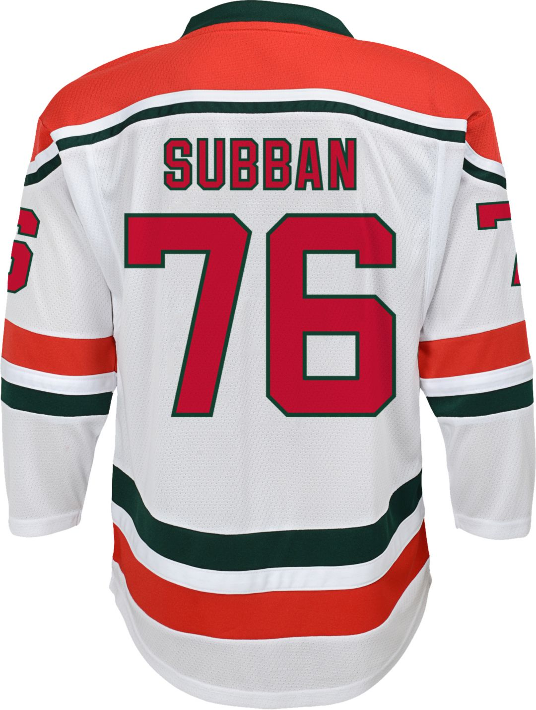 hot sale online dbe60 cef5d NHL Youth New Jersey Devils P.K. Subban #76 Replica Away Jersey