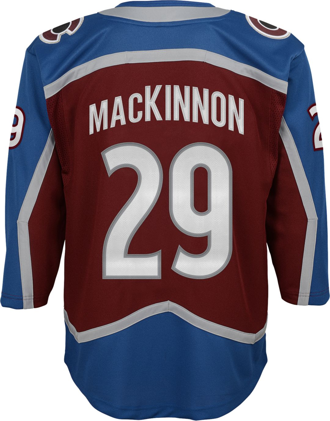 best service 27152 2837e NHL Youth Colorado Avalanche Nathan MacKinnon #29 Premier Home Jersey