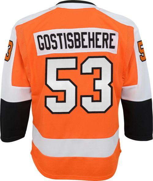 a56c0ef551a NHL Youth Philadelphia Flyers Shayne Gostisbehere #53 Premier Home ...