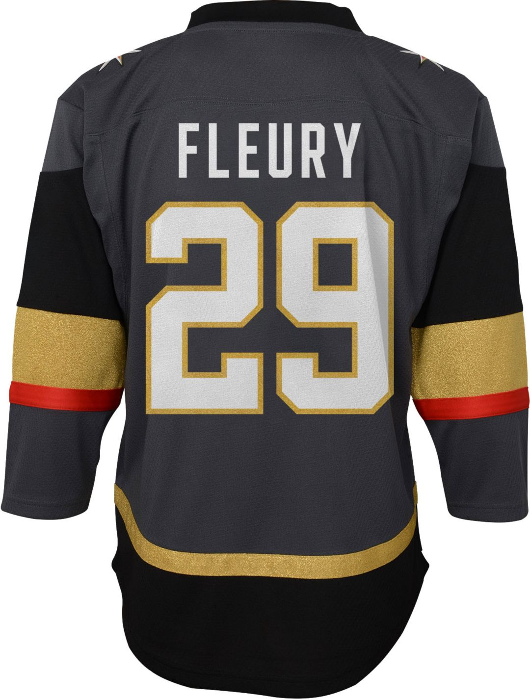low priced 929e0 ea39b NHL Youth Vegas Golden Knights Marc-Andre Fleury #29 Premier Home Jersey