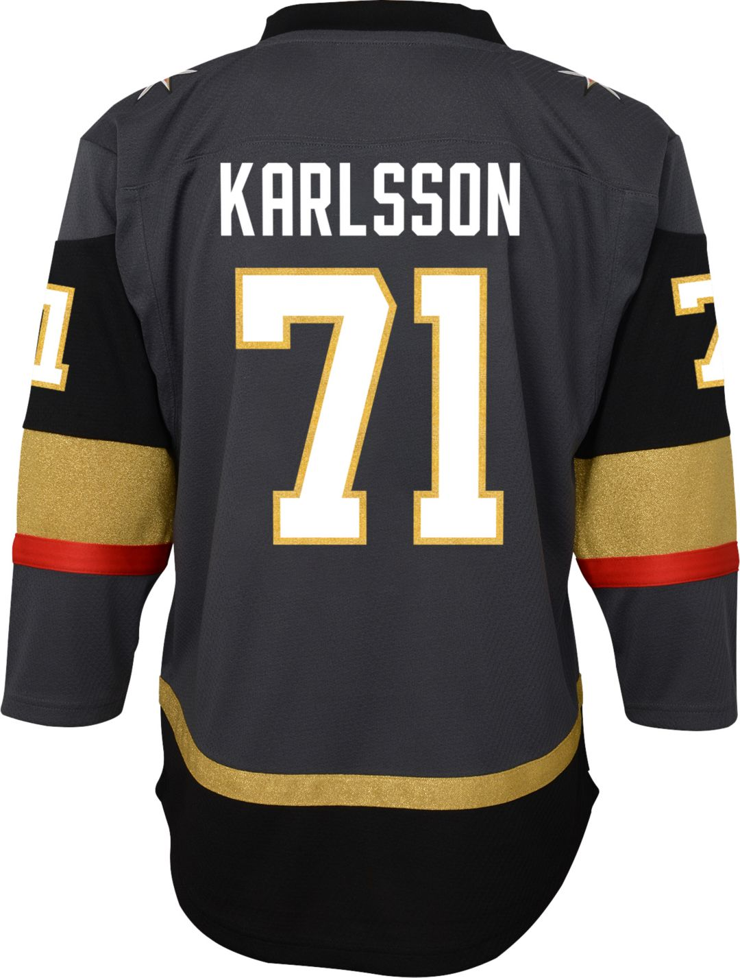 new product 30984 1fdf4 NHL Youth Vegas Golden Knights William Karlsson #71 Replica Home Jersey