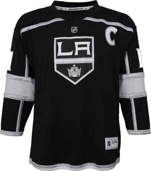 5f01a8a7616 NHL Youth Los Angeles Kings Anze Kopitar #11 Replica Home Jersey ...