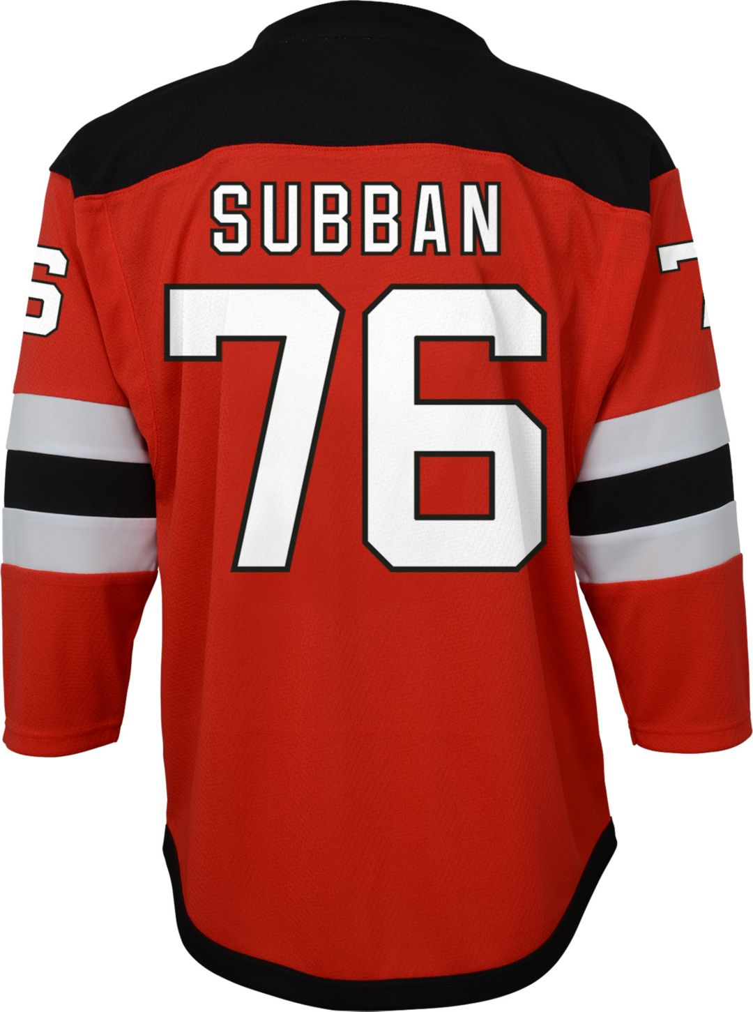 sneakers for cheap 51c73 cdc72 NHL Youth New Jersey Devils P.K. Subban #76 Replica Home Jersey