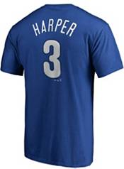 Majestic Youth Philadelphia Phillies Bryce Harper #3 Royal T-Shirt product image