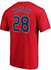 Majestic Youth Cleveland Indians Corey Kluber #28 Red T-Shirt product image