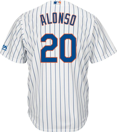 1786f0c7e49 Majestic Youth Replica New York Mets Pete Alonso  20 Cool Base Home White  Jersey. noImageFound. Previous. 1. 2. 3