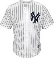 Majestic Youth Replica New York Yankees Mike Tauchman #39 Cool Base Home White Jersey product image