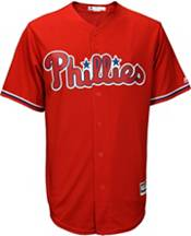 Majestic Youth Replica Philadelphia Phillies Maikel Franco #7 Cool Base Alternate Red Jersey product image
