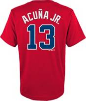 Majestic Toddler Atlanta Braves Ronald Acuna #13 Red T-Shirt product image