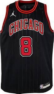 Jordan Youth Chicago Bulls Zach LaVine #8 2020-21 Dri-FIT Statement Swingman Black Jersey product image