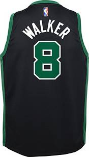 Jordan Youth Boston Celtics Kemba Walker #8 2020-21 Dri-FIT Statement Swingman Black Jersey product image
