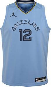 Jordan Youth Memphis Grizzlies Ja Morant #12 Blue 2020-21 Dri-FIT Statement Swingman Jersey product image