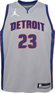 Jordan Youth Detroit Pistons Blake Griffin #23 Grey 2020-21 Dri-FIT Statement Swingman Jersey product image