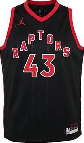 Jordan Youth Toronto Raptors Pascal Siakam #43 2020-21 Dri-FIT Statement Swingman Black Jersey product image