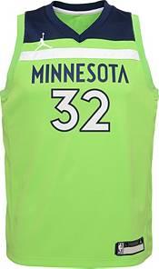 Jordan Youth Minnesota Timberwolves Karl-Anthony Towns #32 Green 2020-21 Dri-FIT Statement Swingman Jersey product image